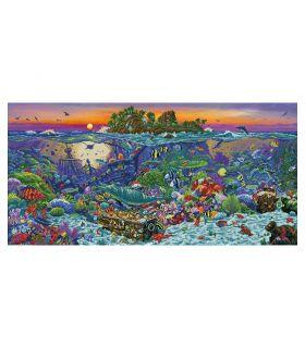 Diamond Dotz Coral Reef Island