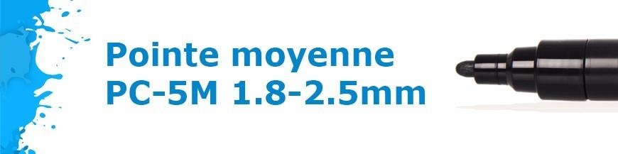 Pointe moyenne PC-5M 1.8-2.5mm