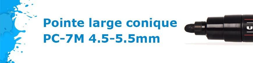 Pointe large conique PC-7M 4.5-5.5mm