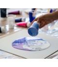 Peinture acrylique pouring