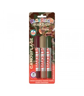 3 Sticks de maquillage Playcolor Make Up Camouflage