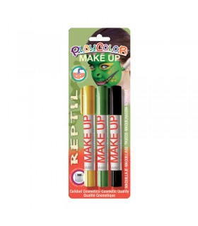 3 Sticks de maquillage Playcolor Make Up Reptile