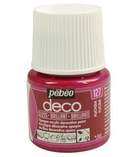 Peinture acrylique pébéo Déco 127 Fuchsia brillant
