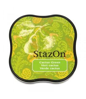 Encreur permanent Stazon Cactus Green 3.8x3.8cm