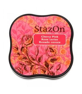 Encreur permanent Stazon Cherry Pink 3.8x3.8cm