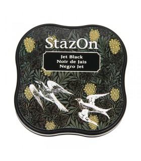 Encreur permanent Stazon Jet Black 3.8x3.8cm