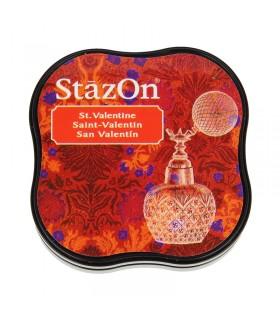 Encreur permanent Stazon Saint Valentin 3,8x3,8cm