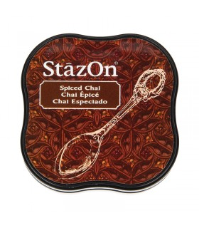 Encreur permanent Stazon Spiced Chai 3.8x3.8cm