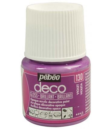 Peinture acrylique pébéo Déco 130 Violet brillant