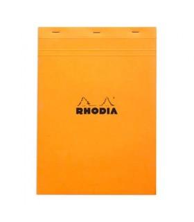 Bloc Rhodia A4 petit carreaux