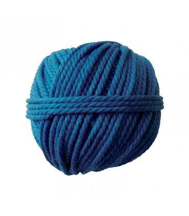 Pelote coton cable bleu 165gØ2.5