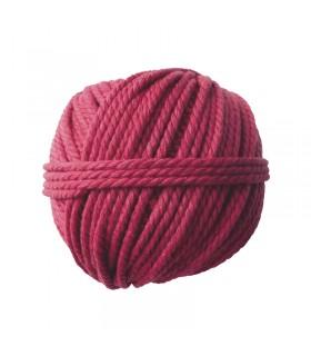 Pelote coton cable rouge 165gØ2.5