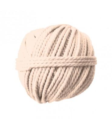 Pelote coton cable ecru 165gØ2.5