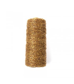 Bobine de ficelle métallique Cuivre 25m Graine Créative