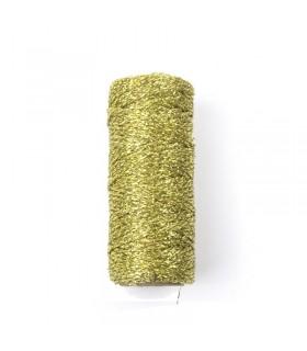 Bobine de ficelle métallique Or 25m Graine Créative