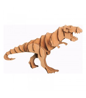 Maquette Tyranosaure en carton 2x7x1 cm