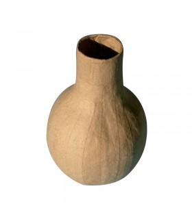 Vase Calbalse papier maché 10.5x15x10.9 cm