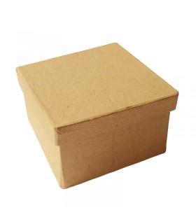 Boite carré en carton 8.5x8.5x5.2 cm