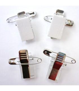 10 Epingles clips adhésifs 2.8cm Graine Créative