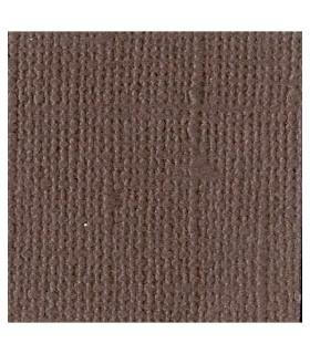 Papier scrapbooking brown 30x30cm Bazzill
