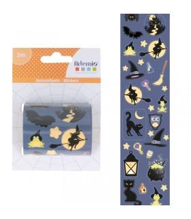 Stickers Sorcière Halloween 1RL Artémio