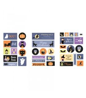Stickers Sorcière Halloween 3F Artémio