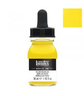 Encre acrylique Liquitex Ink Jaune moyen 30ml