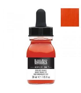 Encre acrylique Liquitex Ink Rouge orange vif 30ml