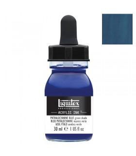 Encre acrylique Liquitex Ink Bleu de phtalocyanine (nuance verte) 30ml
