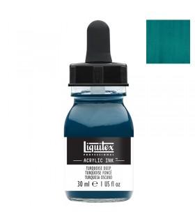 Encre acrylique Liquitex Ink Turquoise foncé 30ml