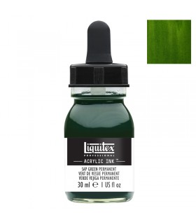 Encre acrylique Liquitex Ink Vert de vessie permanent 30ml