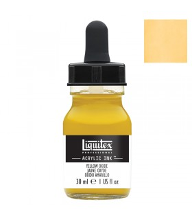 Encre acrylique Liquitex Ink Jaune de Mars 30ml