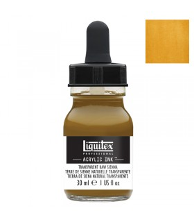 Encre acrylique Liquitex Ink Terre de Sienne naturelle transparente 30ml