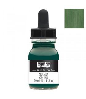 Encre acrylique Liquitex Ink Vert Feutré 30ml