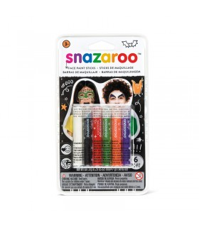 6 sticks de maquillage halloween Snazaroo