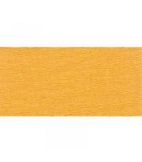 Papier crépon Jaune d'or 2.5mx50cm Clairefontaine
