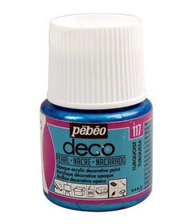 Peinture acrylique pébéo Déco 117 Turquoise nacré