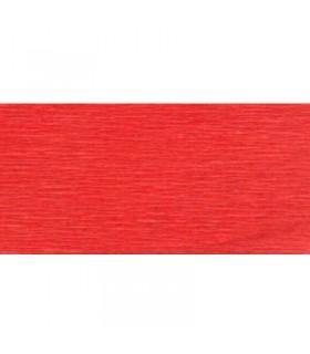 Papier crépon Rouge 2.5mx50cm Clairefontaine