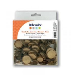 Mini tranche de bois 180g Artémio