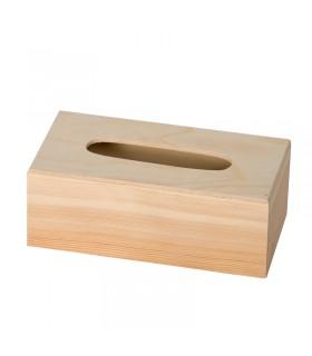Boite à mouchoirs en bois Artémio