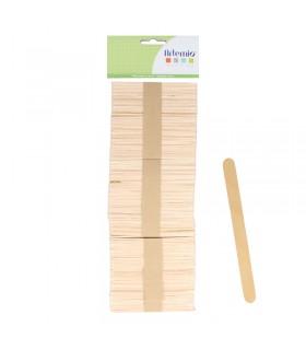150 Bâtonnets en bois 114x10x2mm Artémio