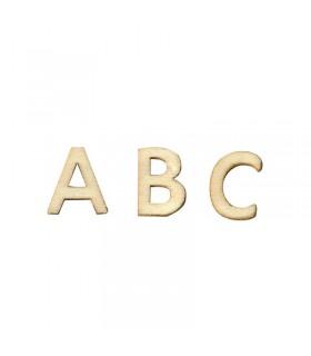 Alphabet en bois 1.3cm 162pcs Artémio