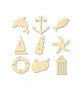 Mini silhouettes de la Mer Artémio