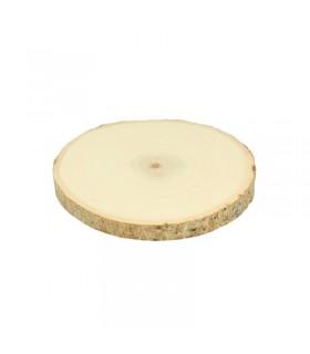 Planches de peuplier rondes 12-15cm 2pcs Artémio