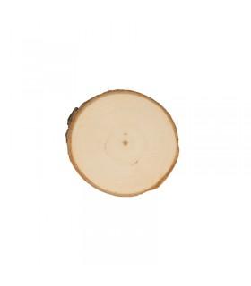 Planches de peuplier rondes 6-7cm 2pcs Artémio