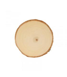 Planches de peuplier rondes 11-12cm 2pcs Artémio