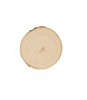 Planches de peuplier rondes 9-10cm 2pcs Artémio