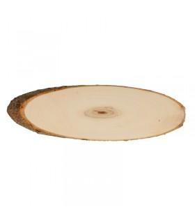 Planches de peuplier ovale 37-42cm 2pcs Artémio