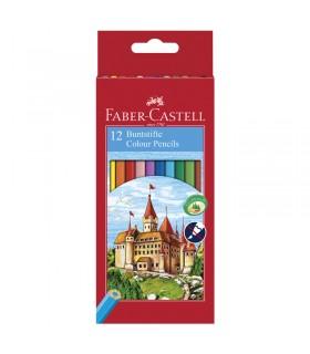 12 Crayons Couleur Castle Faber-Castell