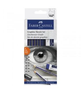 Set esquisses crayon graphite Faber-Castell